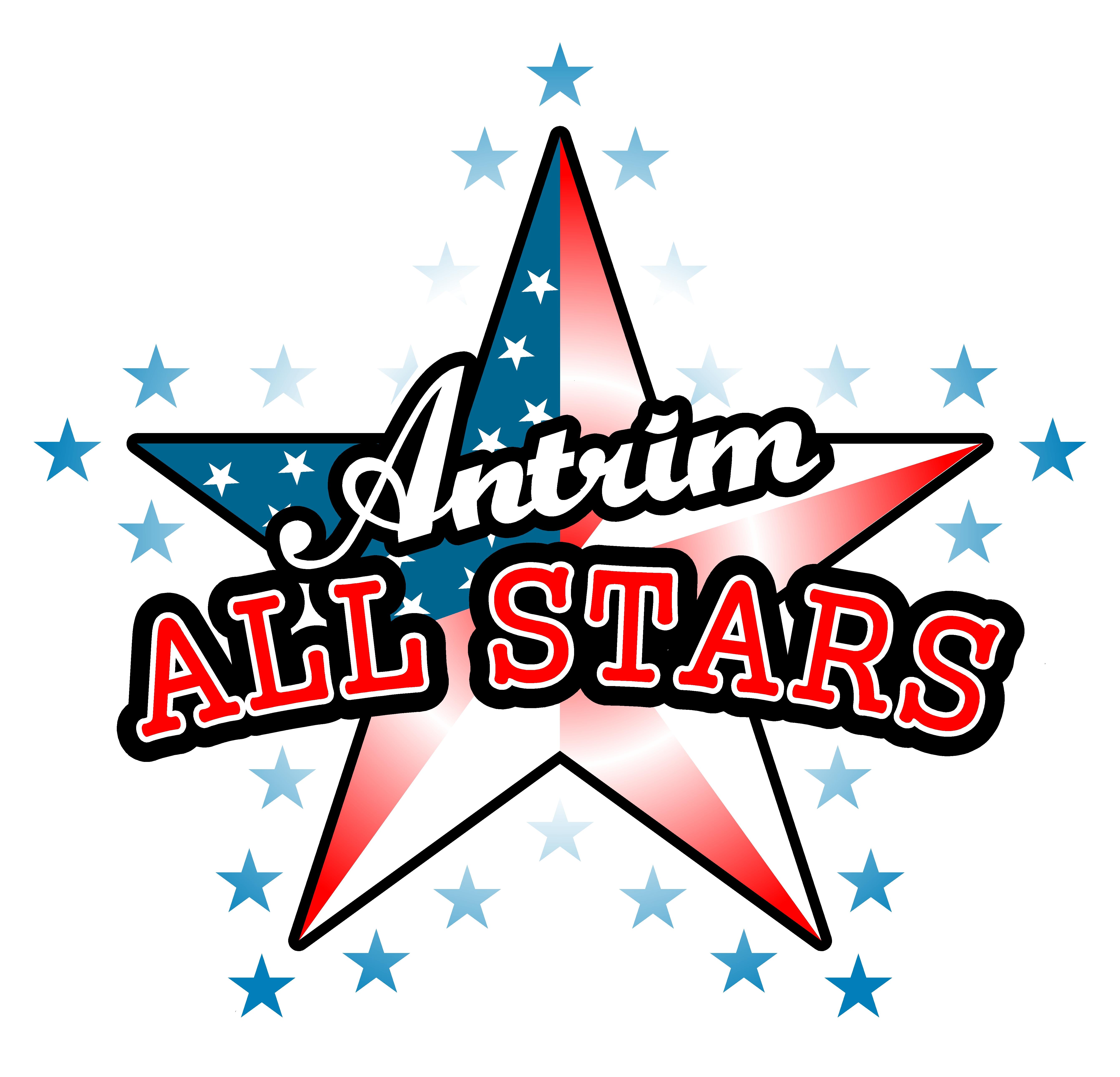 antrim all stars logo nistars
